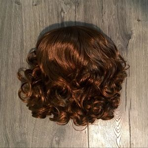 Reddish/Brown Curly Wig